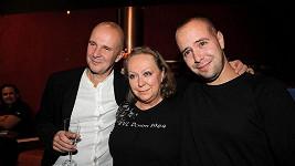 František Soukup s rodiči.