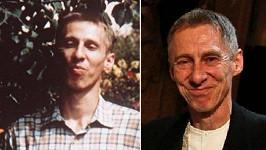 János Bán v roce 1985 a dnes