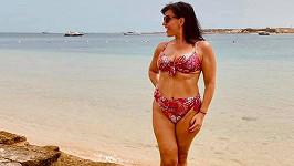 Andrea Kalivodová ještě stihla dovolenou.