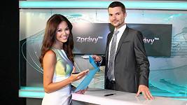 Monika Leová s parťákem Tomášem Drahoňovským.