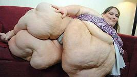 Susanne Eman chce být nejtlustší ženou světa.