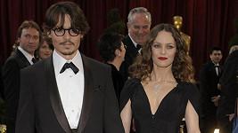 Paradis a Depp na Oscarech v roce 2007.