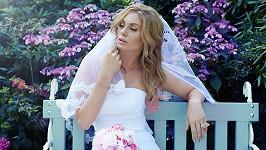 Nikoliny reálné svatební šaty budou velmi jednoduché.