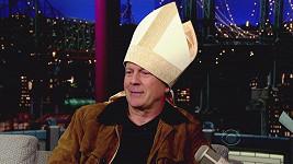 Bruce Willis by se rád stal papežem.