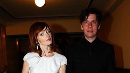 Aňa Geislerová s manželem.