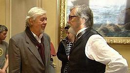 Josef Abrhám a Jiří Bartoška v Já, Mattoni, kde nakonec nehrají.