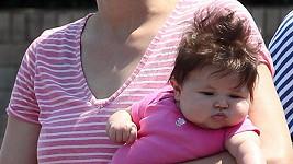 Tříměšíční dcera Kevina Federlina má buclaté tvářičky.