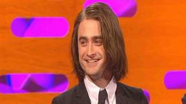 Daniel Radcliffe v televizní show.