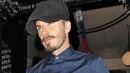 David Beckham se proměnil ve Vladimira Iljiče Lenina.