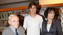 Fešák je Vojta po tátovi, vysoký po mamince.
