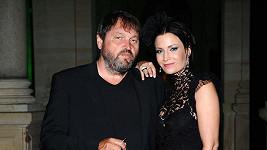 Gábina Partyšová s manželem Pepou.