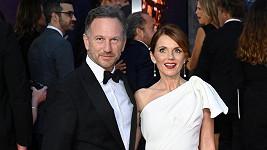 Geri Horner s manželem Christianem
