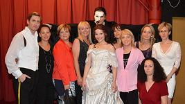 Radima Schwaba po Fantomovi opery pozvaly zdravotní sestry na svoje soaré.