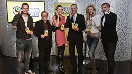 Na tiskovce loterijní společnosti se objevilo několik známých tváří.