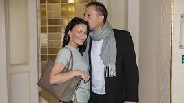Gábina Partyšová se svým mužem Danielem po delší době ve společnosti...