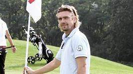 Petr Čadek na golfu.