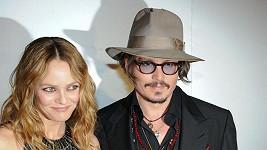 Vanessa Paradis s Johnnym Deppem.