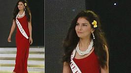 Rakhima Ganieva na zahajovacím večeru a představování Miss World.