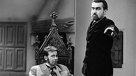 Jan Schánilec (vlevo) a Ilja Racek ve filmu Hrabě Drakula (1970)