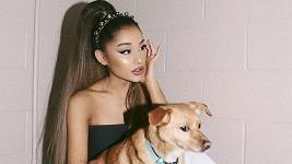 Ariana Grande s psím miláčkem Toulousem