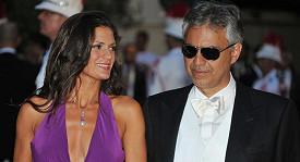Andrea Bocelli a Veronica Berti.