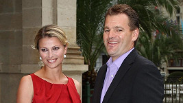 Jitka Kocurová a její dnes již manžel Tomáš Abraham.