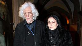 Petr Hapka s dcerou