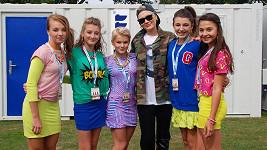 5Angels se svou asi nejslavnější fanynkou Jessie J.