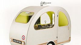 Miniaturní karavan.