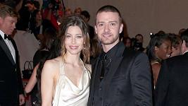 Justin Timberlake s manželkou Jessicou Biel