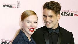 Scarlett Johansson a Romain Dauriac