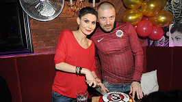 Vlaďka Erbová a její manžel Tomáš Mega Řepka