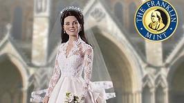 Nevěsta Kate Middleton jako panenka.