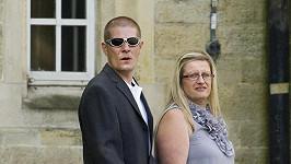 Lynne Beckham se svým partnerem Kevinem Briggsem, který si nyní odpykává trest ve vězení za řízení pod vlivem alkoholu.