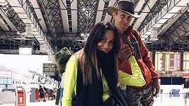 Eliška s partnerem Jakubem