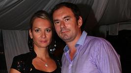 Emanuel Ridi s manželkou Janou.