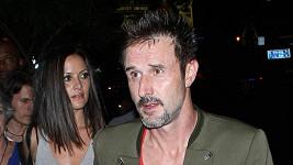 David Arquette s přítelkyní Christinou McLarty.