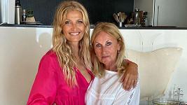 Tereza Maxová s maminkou