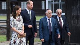 Kate a William se přišli podívat na koncentrační tábor Stutthof.
