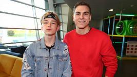 David se svým mladším bráchou Tomem