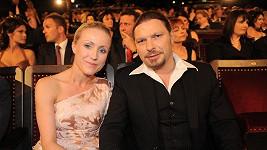 Zuzana Kolářová s manželem Petrem.