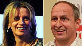 Ivana Chýlková a Jan Kraus.