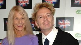 John Lydon s manželkou Norou Foster