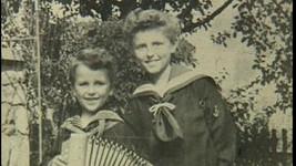 Václav Neckář s mladším bratrem