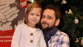 Filip Čapka se svojí malou princeznou.