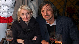 Martin Stropnický s manželkou Veronikou Žilkovou.