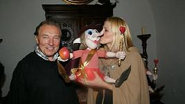 Karel a Ivana Gottovi měli z originálního dárku radost.