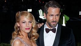 Blake Lively a Ryan Reynolds zase baví internet.