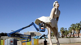 Marilyn se dočkala údržby.