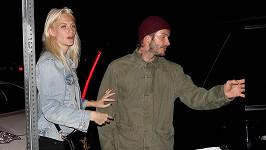 David Beckham a modelka Poppy Delevinge odcházeli z klubu až k ránu.